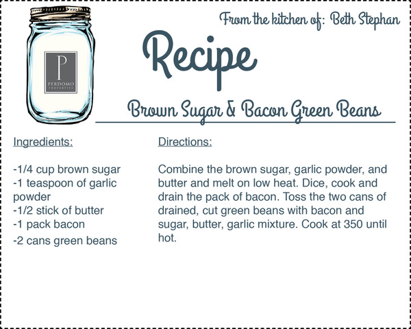 recipe card Beth